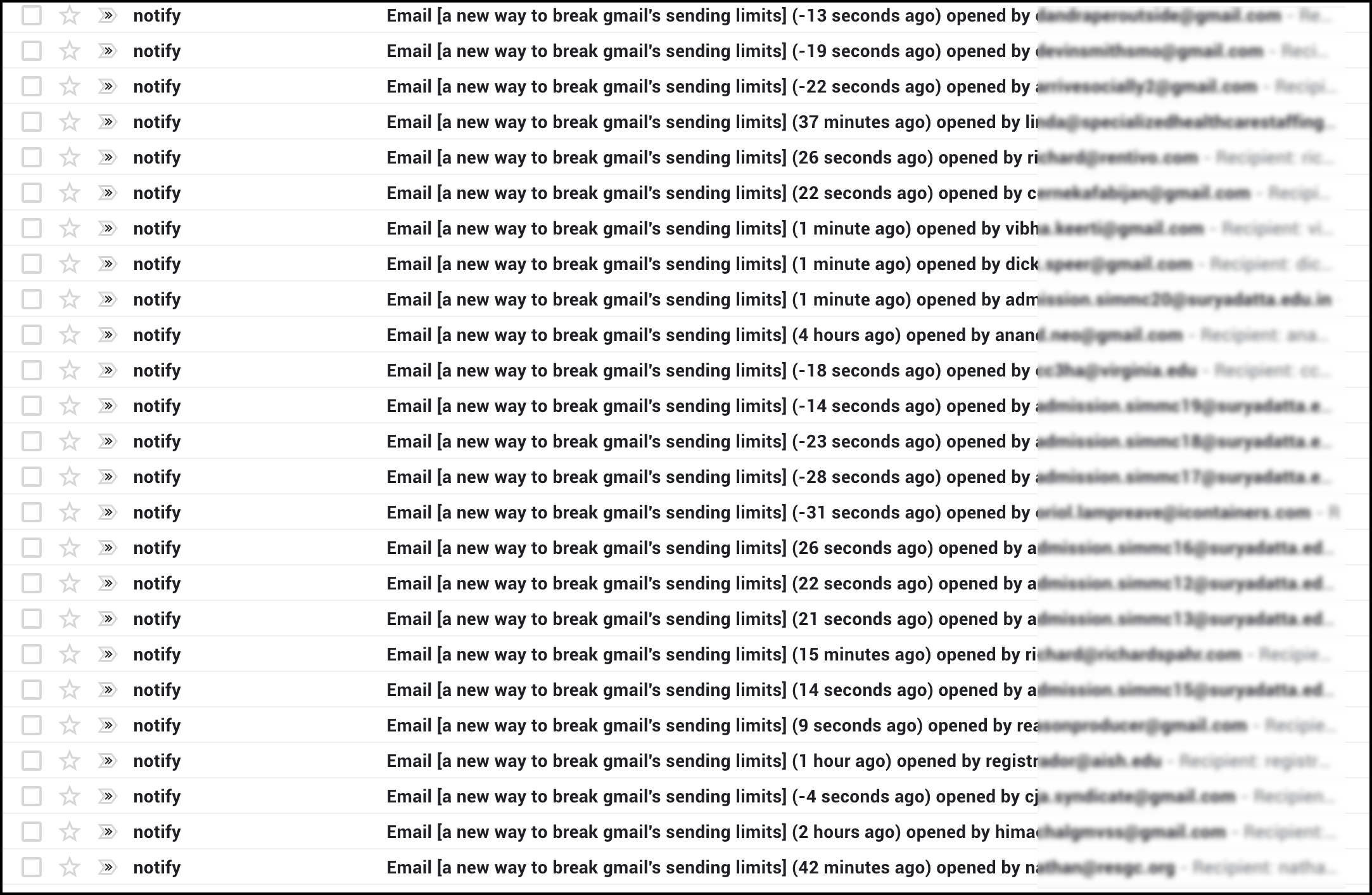 Dealing with false opens in Gmail