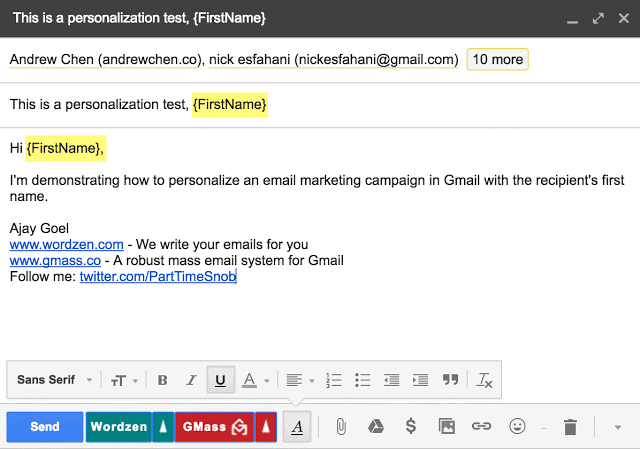networking email subject line 1