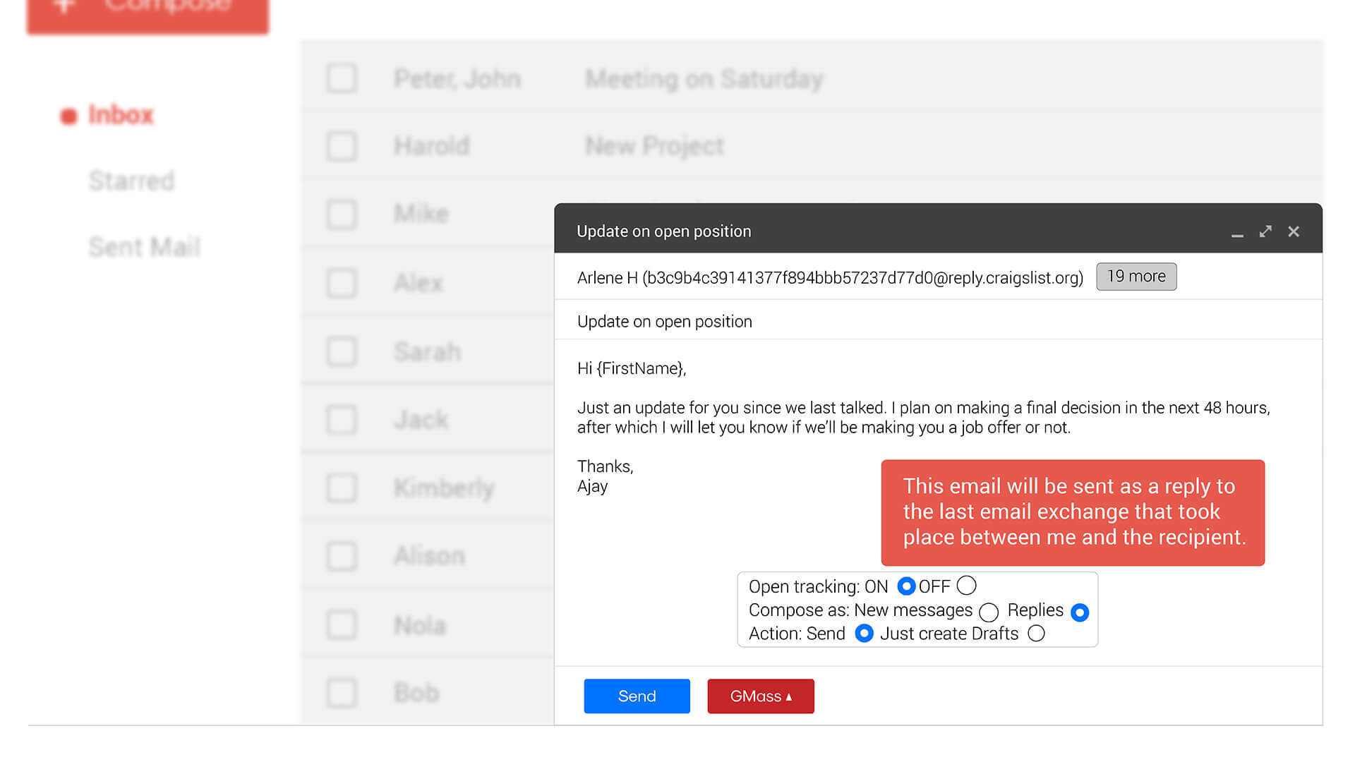 GMass: Gmail Mail Merge | Send & Schedule Mass Email