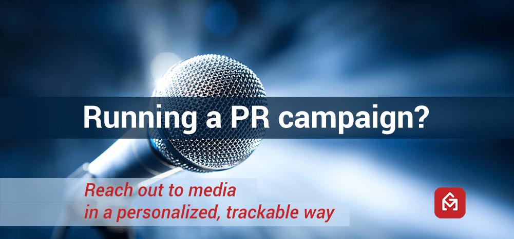 PR email